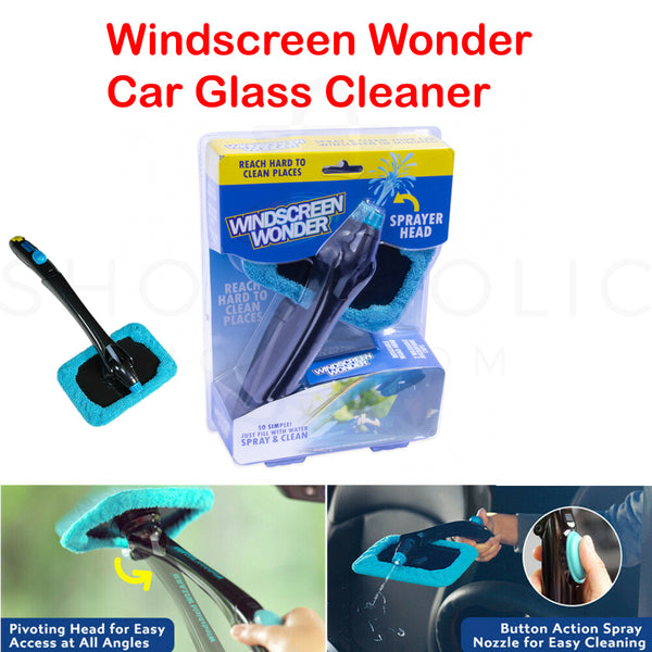 Car Windshield Window Cleaning Kit Windscreen Glass Kit Hurricane Cleaner