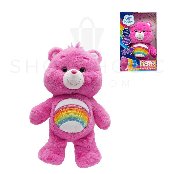 Care Bears Rainbow Lights Cheer Bear - Light Up & Sound