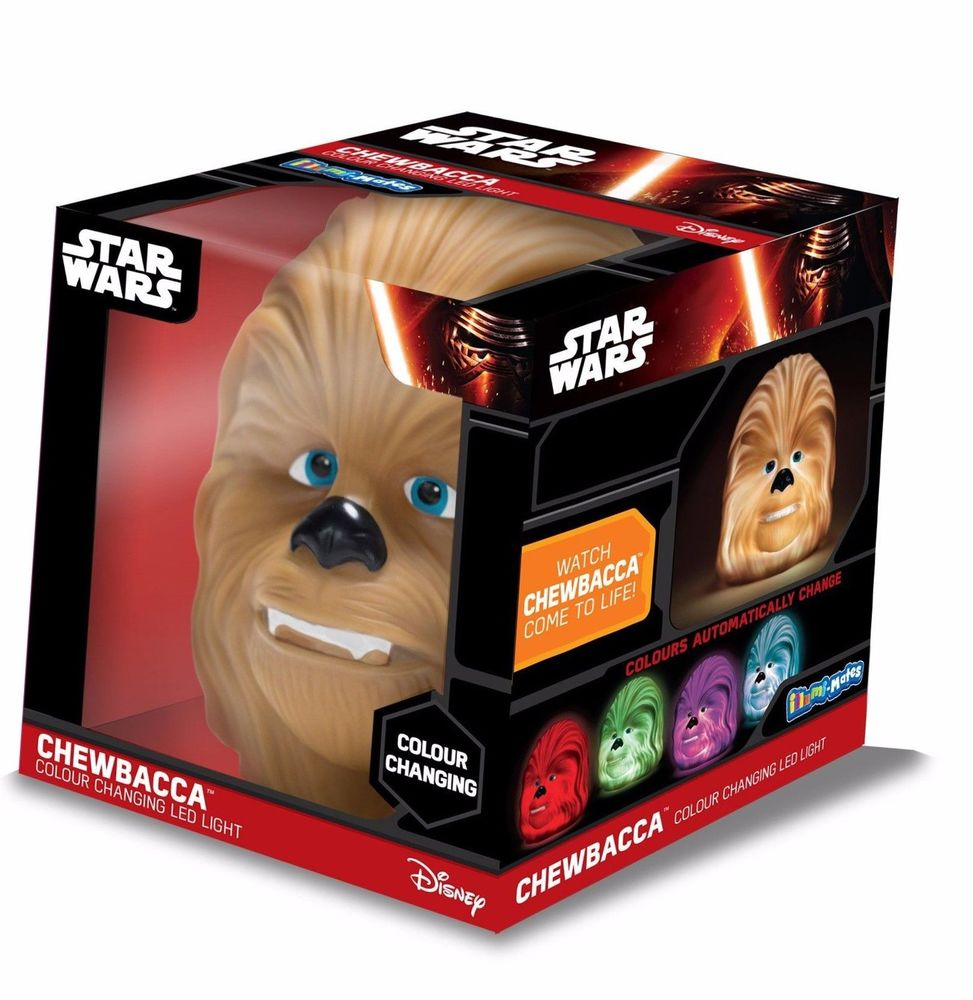 Star Wars Illumi-Mates Colour Changing LED Light - Chewbacca