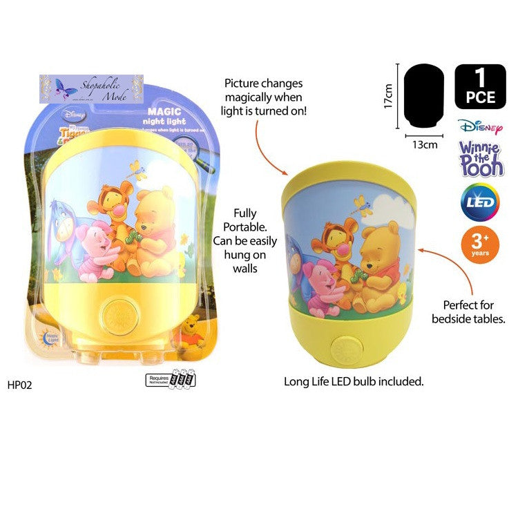 Disney Baby Pooh Battery Operated Magic LED Night Light