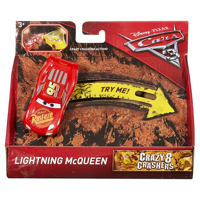 Disney Pixar Cars 3 Crazy 8 Crashers - Lightning McQueen DYB04