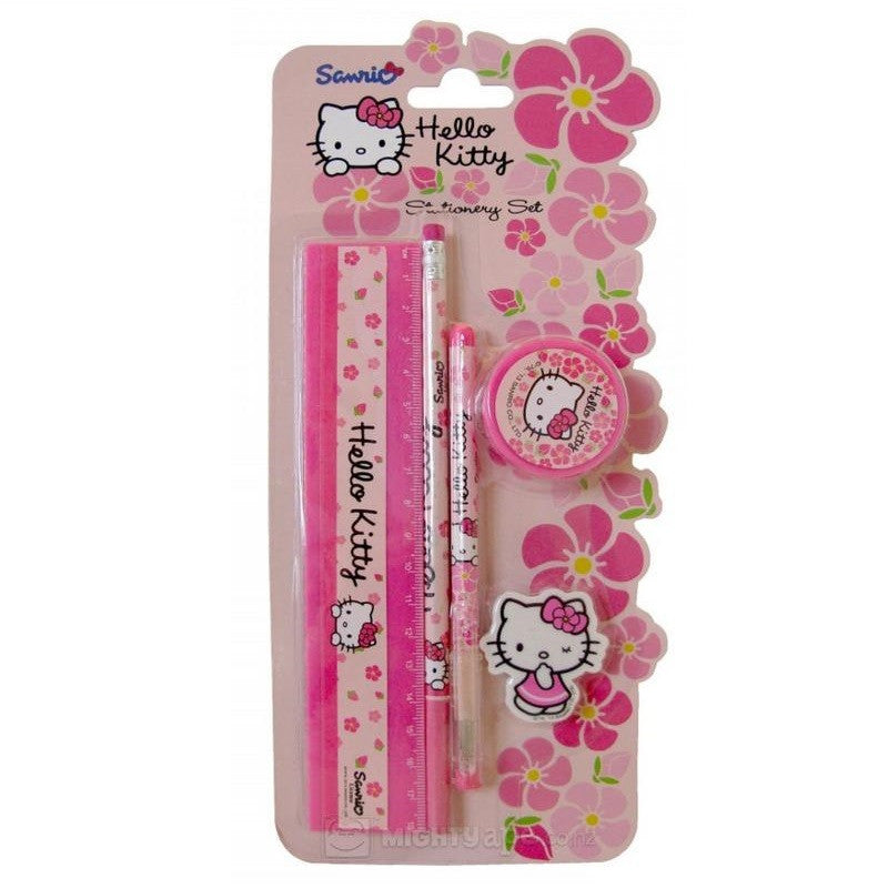 Hello Kitty 5 Piece Stationery Set