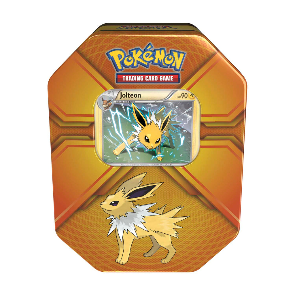 Pokemon TCG Triple Effect Tin with Jolteon