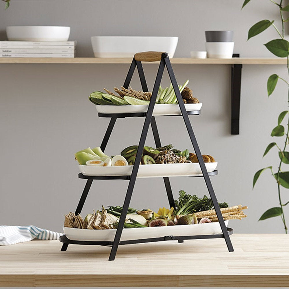 Ladelle Serve & Share 3 Tier Serving Tower