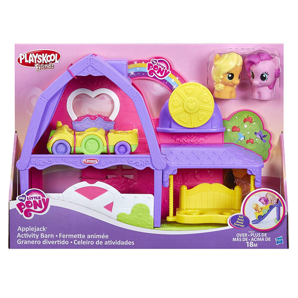 Playskool Friends My Little Pony Applejack Activity Barn Playset