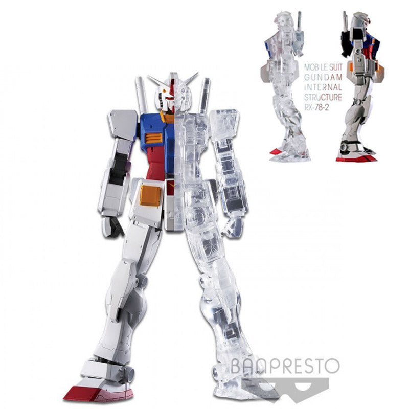 Bandai Banpresto MOBILE SUIT GUNDAM INTERNAL STRUCTURE-RX-78-2 ver.A Half
