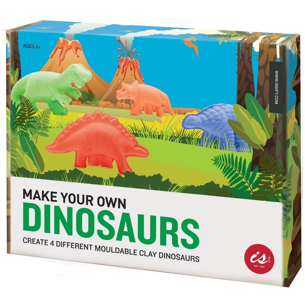 IS GIFT Make Your Own Dinosaur Kit