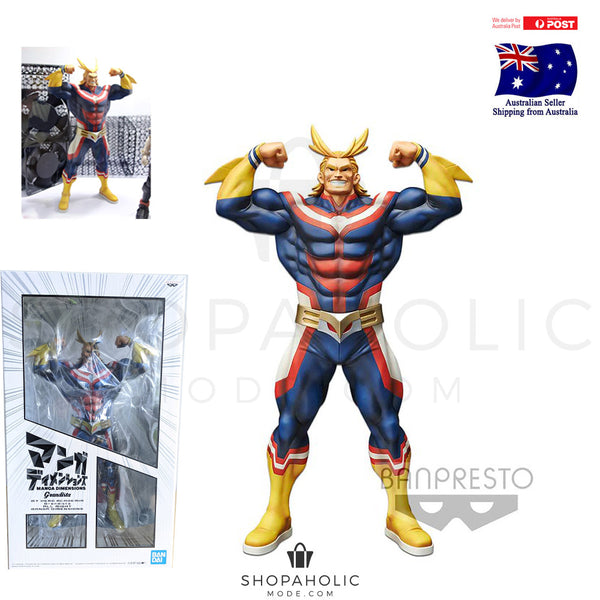 My Hero Academia Grandista All Might Manga Dimensions BANPRESTO Figurine