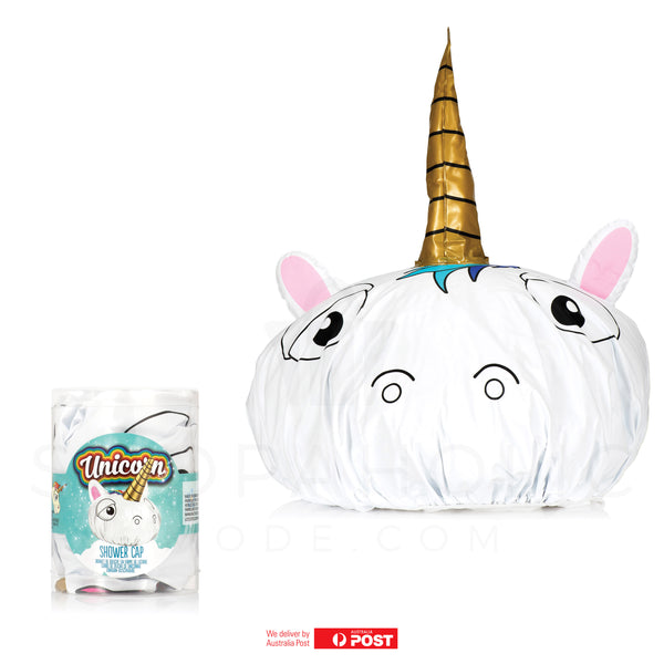 3D Unicorn Shower Cap
