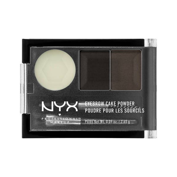 NYX Eyebrow Cake Powder with Wax, Powder & Brushes