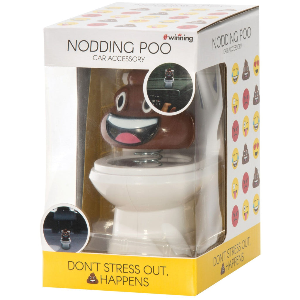 The Source Nodding Poo Car Desk Accessory