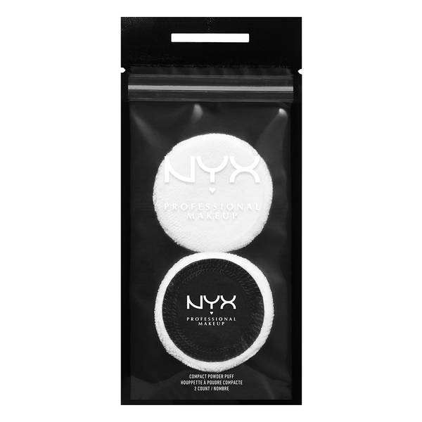 NYX Compact Powder Puff 2 Pack
