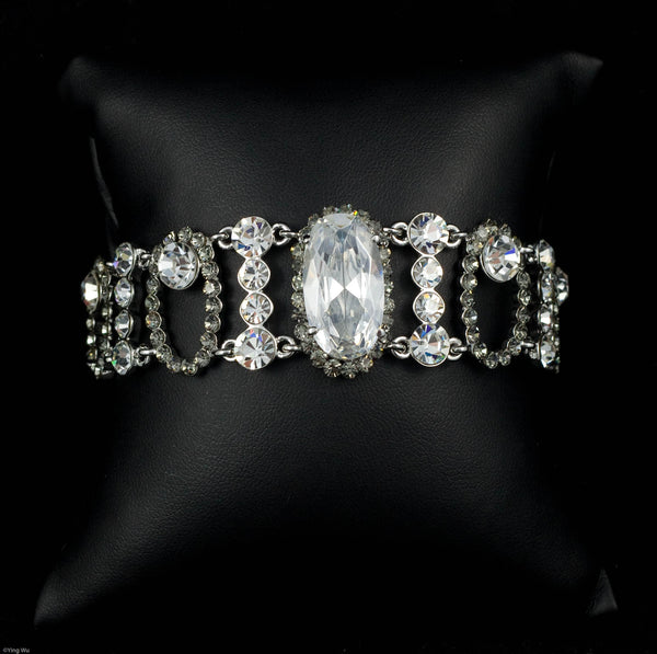 Enchanted - Cubic Zirconia and Rhinestone Bracelet