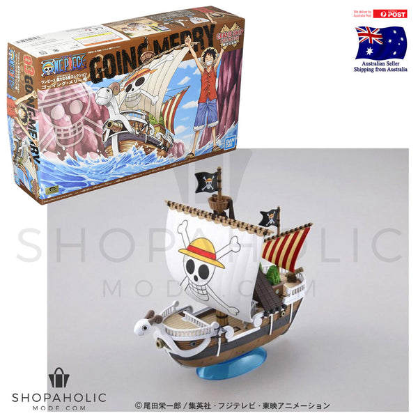 Bandai One Piece Grand Ship Collection Going Merry (Plastic Model Kit)
