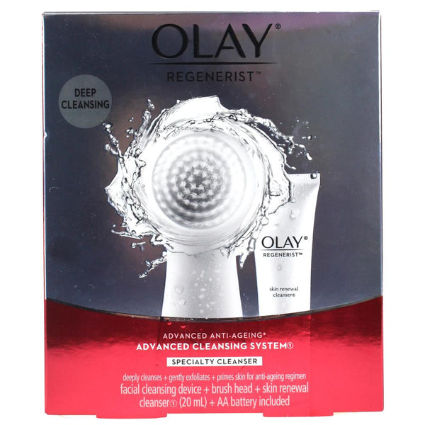 Olay Regenerist Advanced Anti-Ageing Cleansing System - Cleansing Device + Cleanser