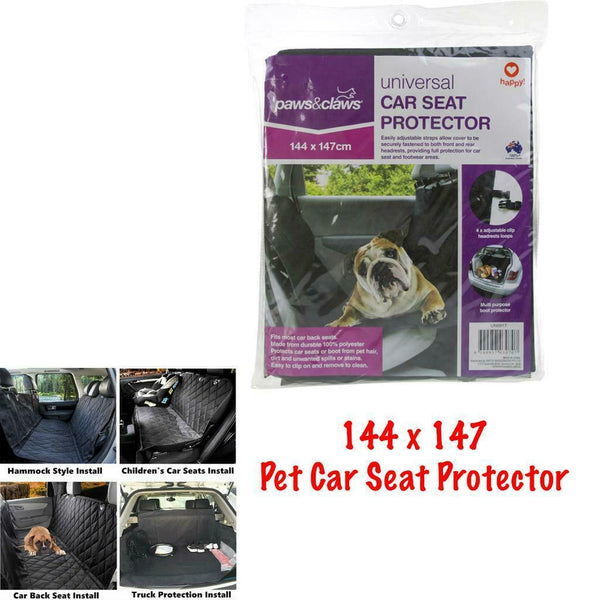 Rear Car Seat Cover Boot Protector