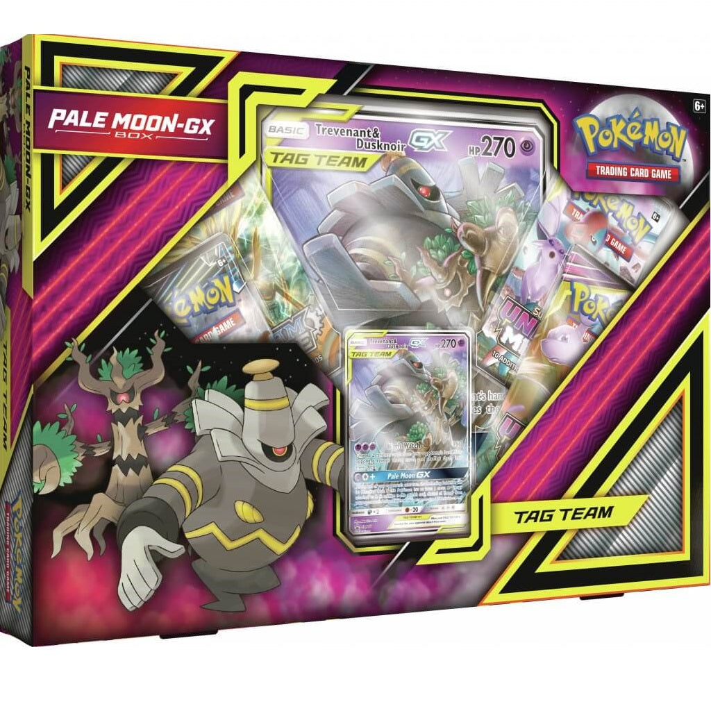 Pokemon TCG Pale Moon GX Box