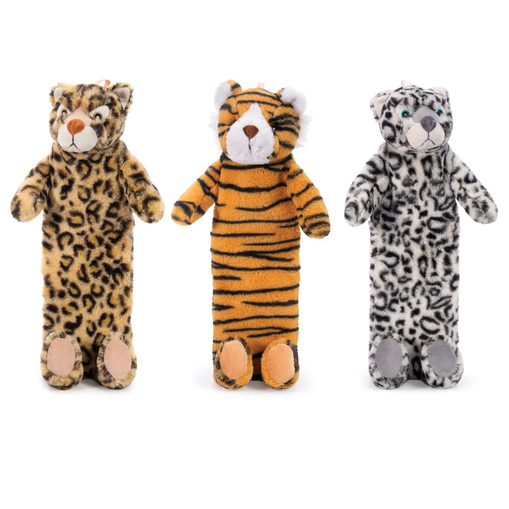 IS GIFT Plush Hot Water Bottle - Wild Animals
