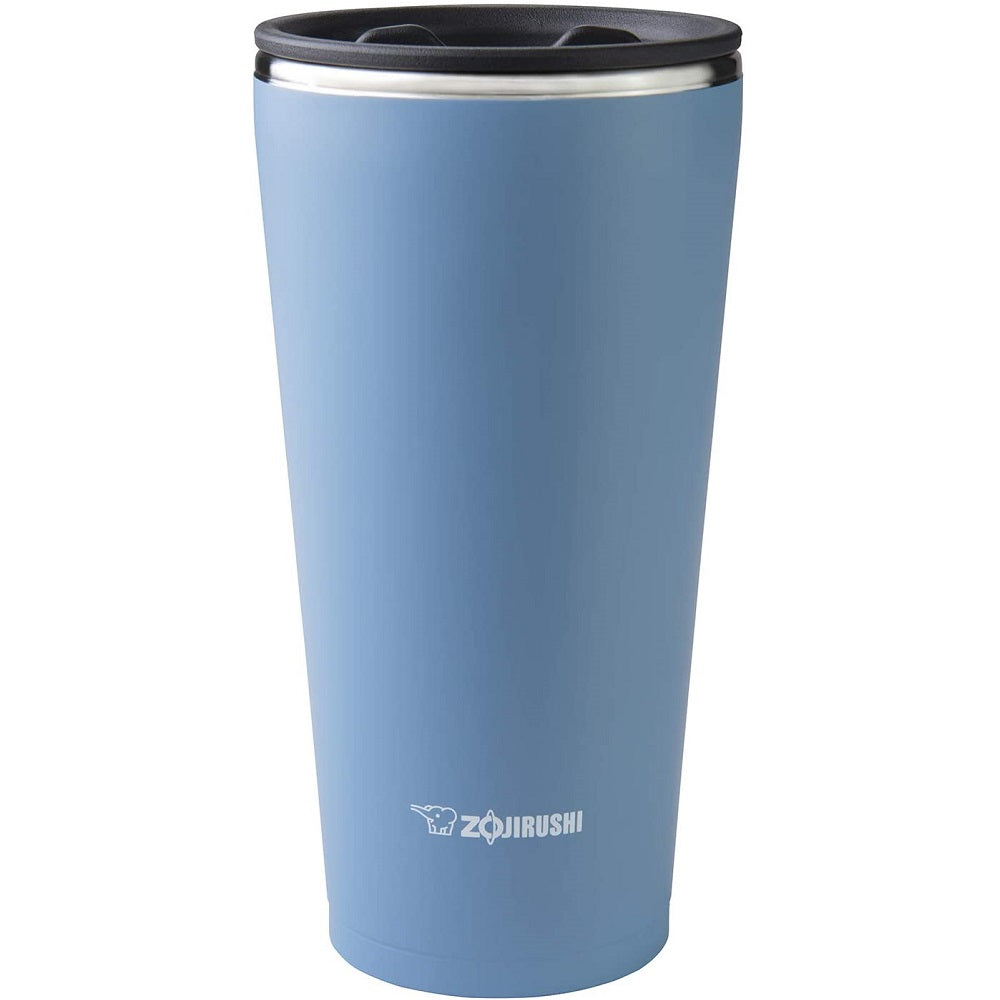 Zojirushi Stainless Steel Vacuum Insulated Tumbler with Lid and Tea Strainer 450mL