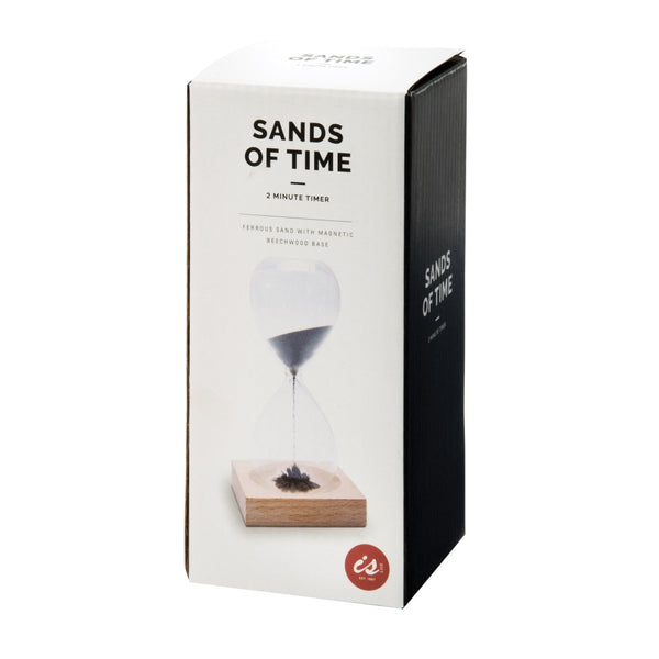 IS GIFT Sands Of Time Magnetic Hourglass - 2 Minute Timer