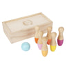 Details about  Sunnylife Travel Skittles Wooden Bowling Set