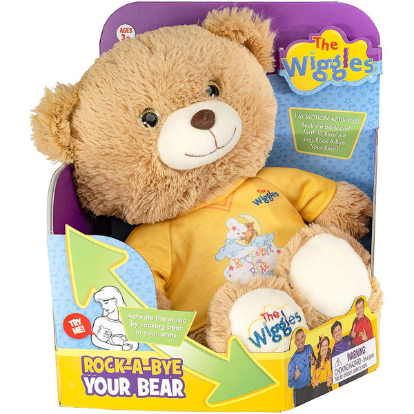 The Wiggles Rock-A-Bye Bear Motion Activated Plush Teddy Bear