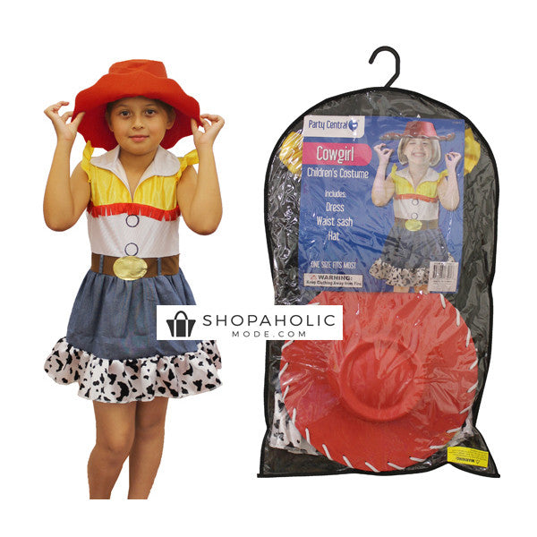 Girls Toy Story Jessie Cowgirl Halloween Costume  sc 1 st  Shopaholic Mode & Girls Toy Story Jessie Cowgirl Halloween Costume u2013 Shopaholic Mode