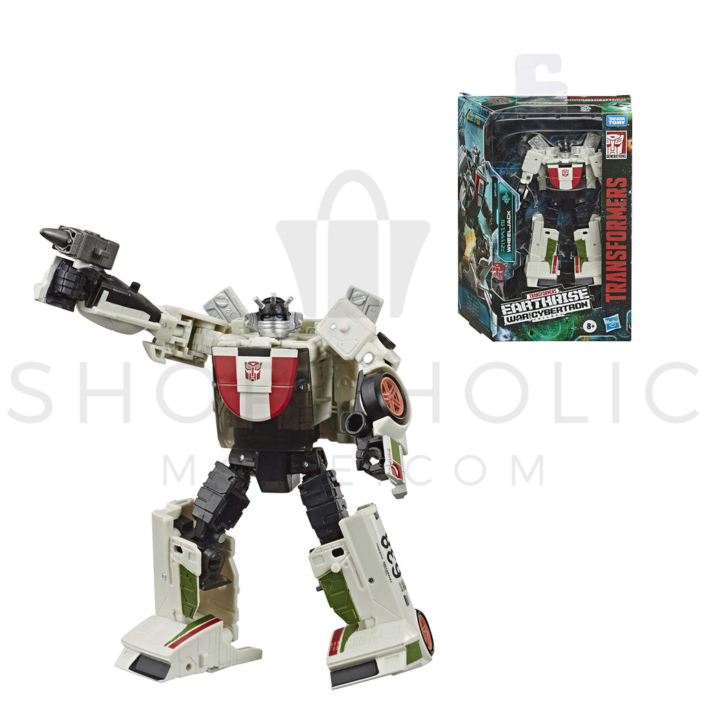 Transformers Earthwise War for Cybertron Trilogy Deluxe Class - WHEELJACK