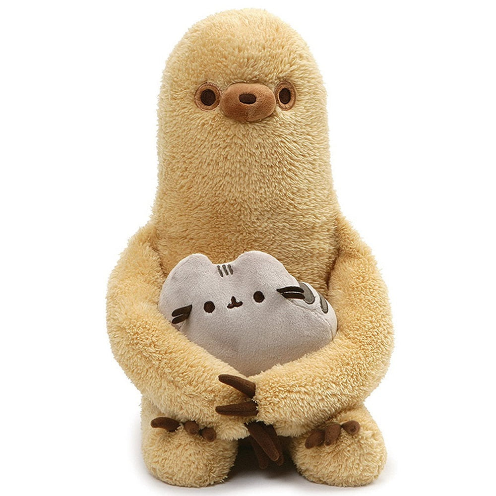 Gund Pusheen with Sloth Plush 18cm