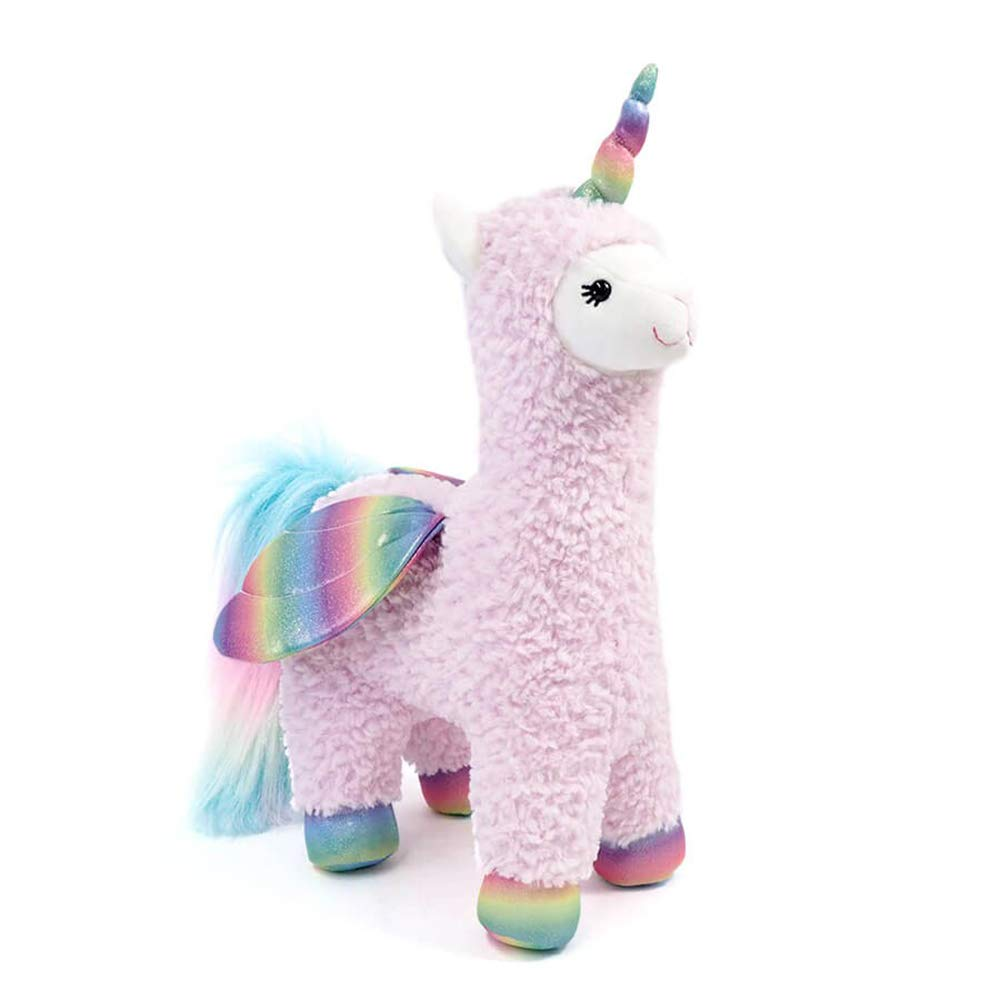 GUND Sparkles Llamacorn with Wings Plush Stuffed Toy 40cm 15.5