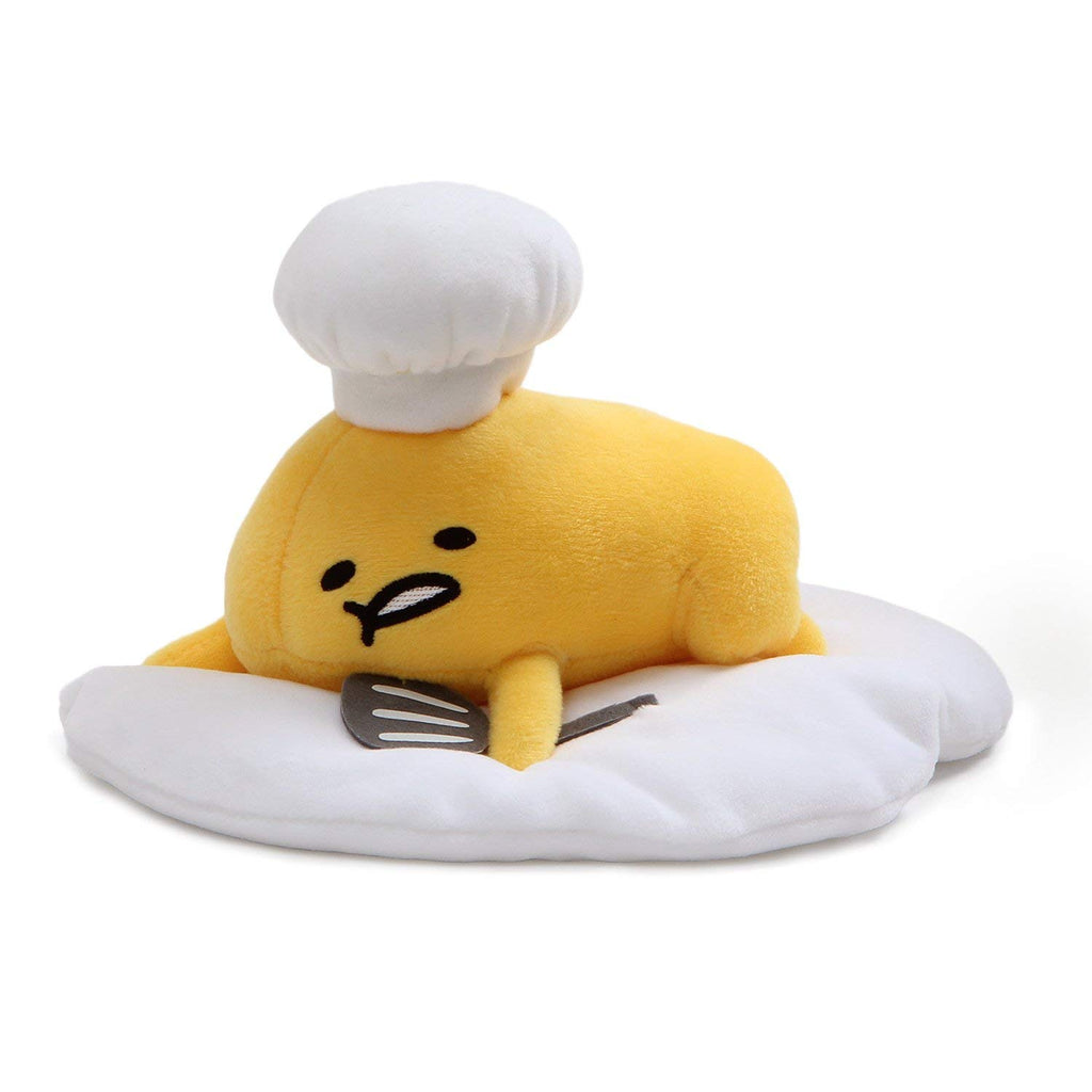 Gudetama Laying Down with Chefs Hat & Spatula 7.5