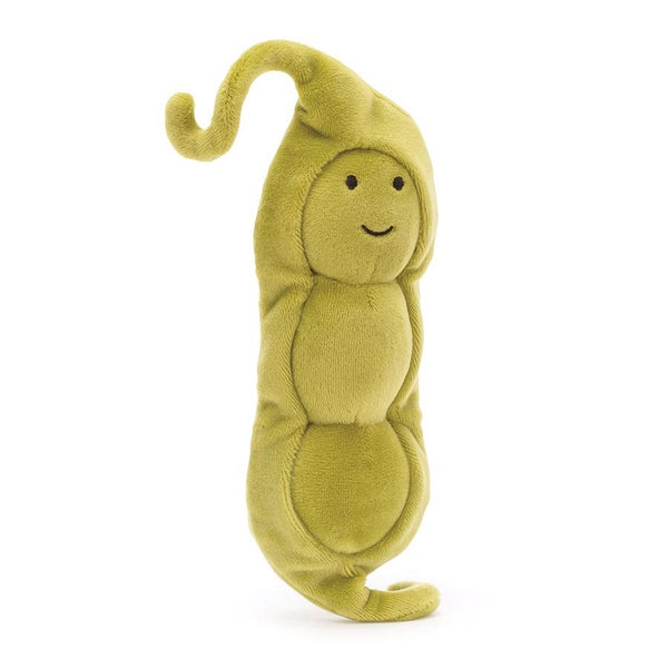 Jellycat Vivacious Vegetable Pea Soft Toy - 17cm
