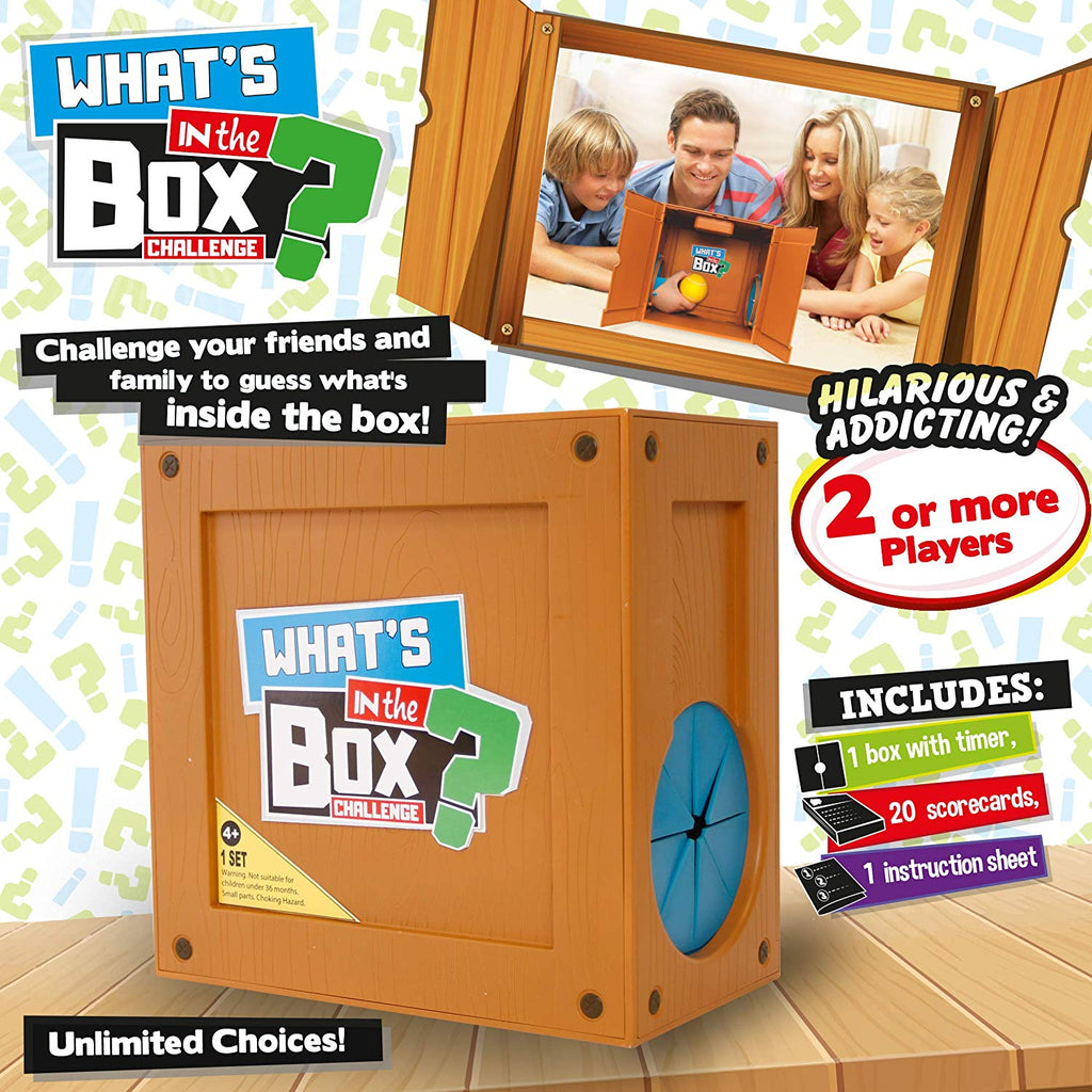 Whats in a box - Family Guessing Boardgame