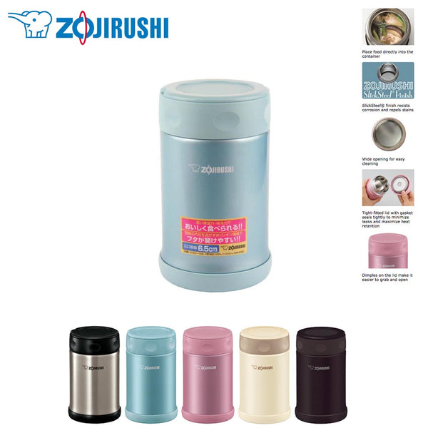 Zojirushi SW-EAE50 Stainless Steel Vacuum Insulated Food Jar 500ml / 0.5L