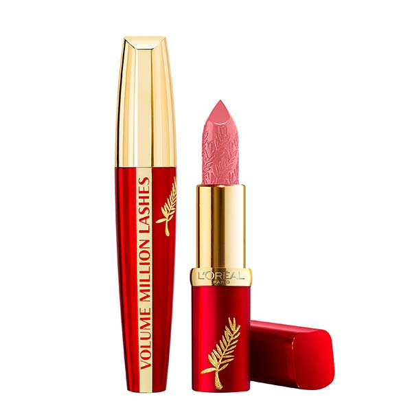 L'Oreal Cannes Limited Edition Mascara & Lipstick Set