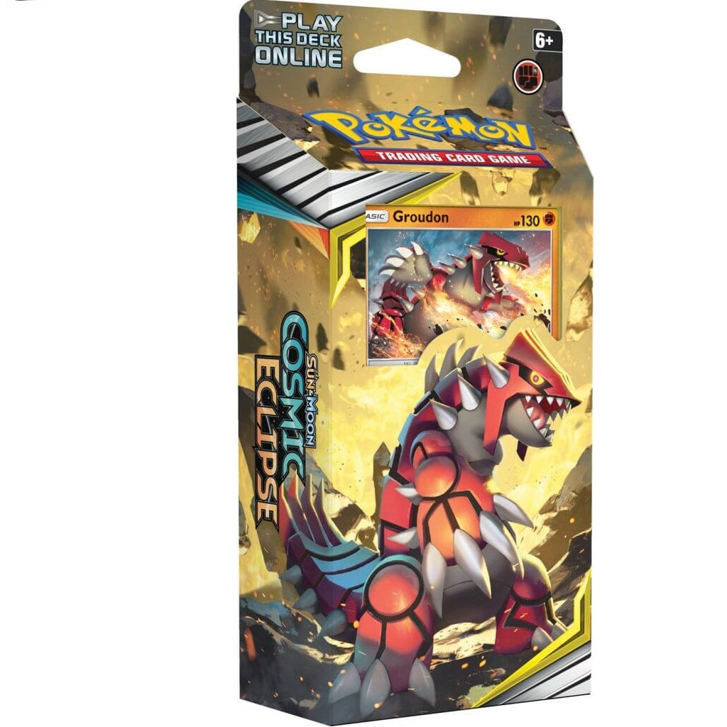 POKEMON TCG Sun & Moon Cosmic Eclipse Theme Deck - Groudon & Kyogre