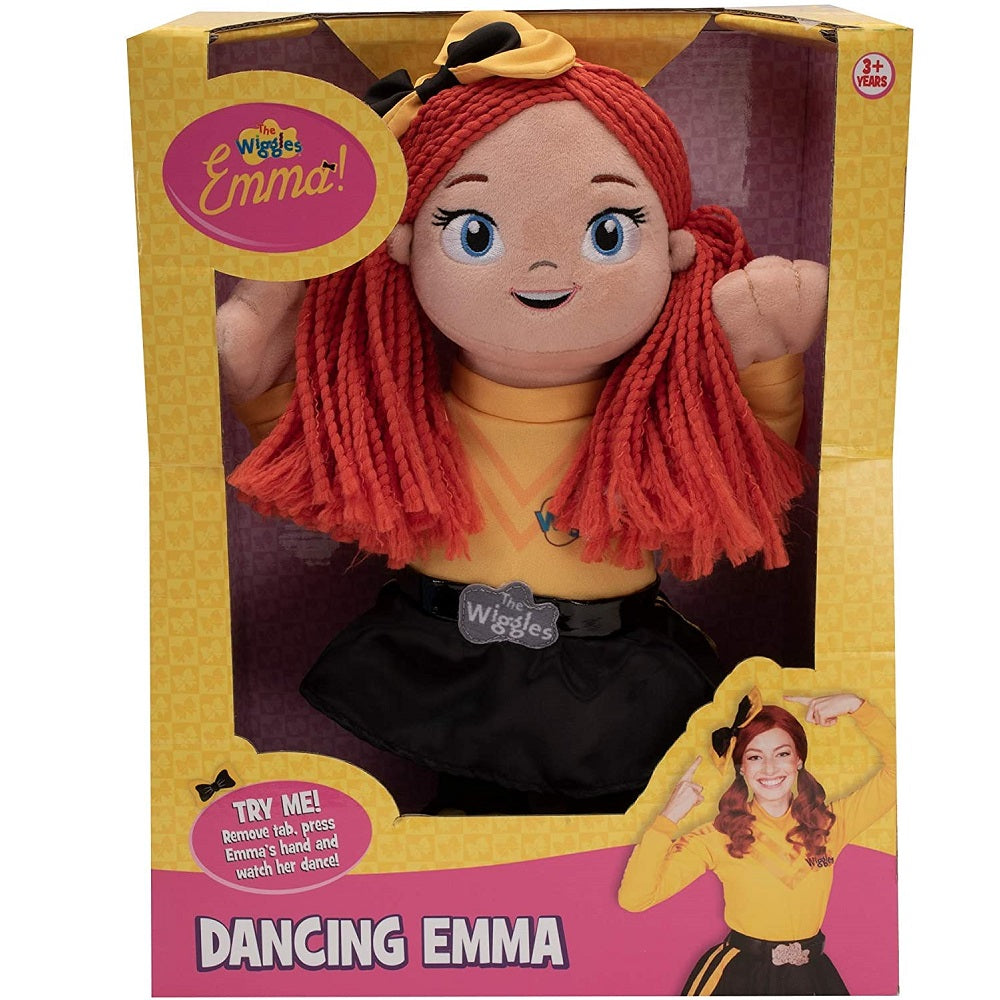 The Wiggles Dancing Emma Plush Toy 35cm