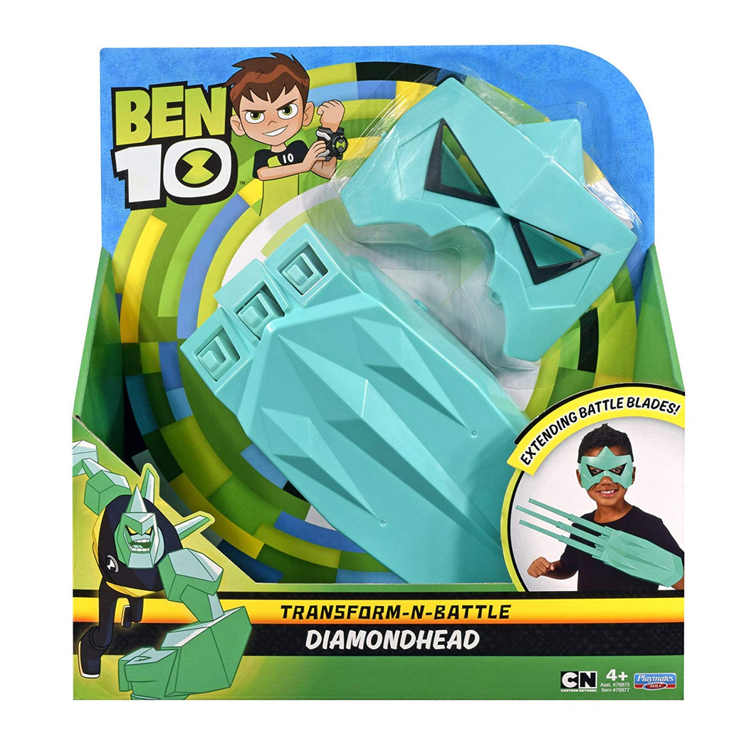 BEN 10 Transform N Battle Role Play Set - Diamondhead #76977