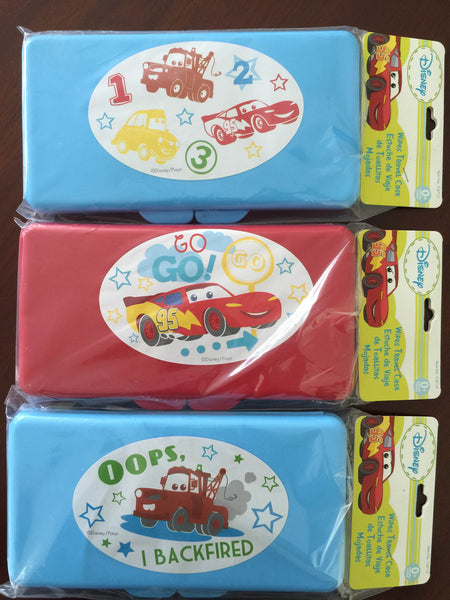 3 of Disney Cars Baby Wipes Travel Case Assorted Design