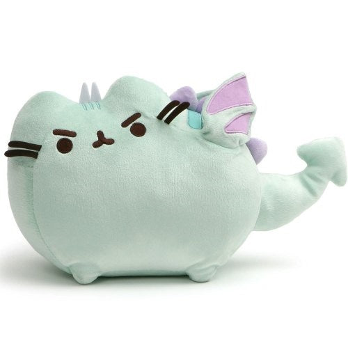 Gund Pusheen Dragonsheen Squeeze Plush 23cm | Squeeze the tail I fly