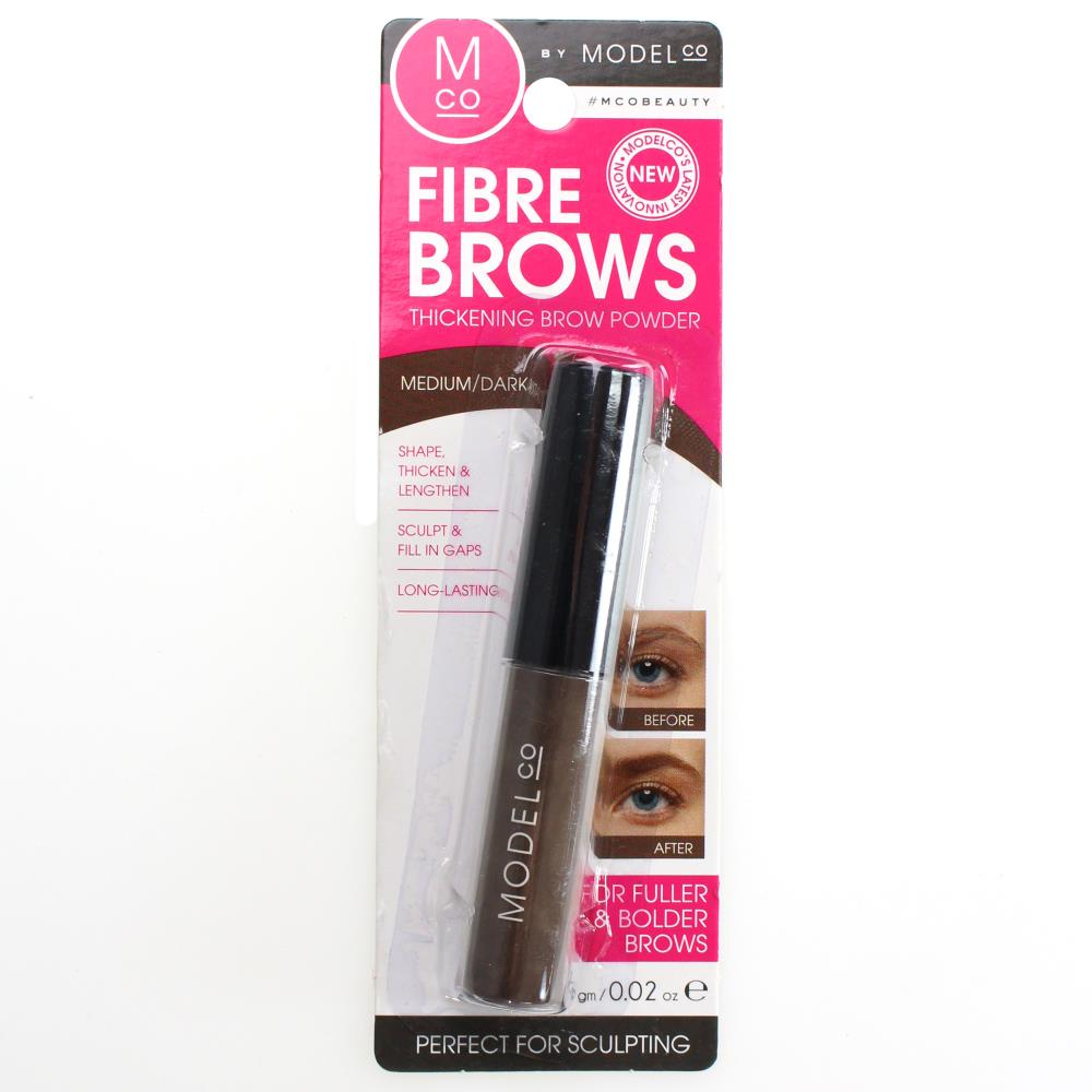 ModelCo Fibre Brows Thickening Brow Powder - Medium/Dark