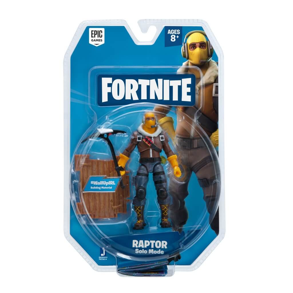 Fortnite Solo Mode Figure 1 Figure Pack - Raptor