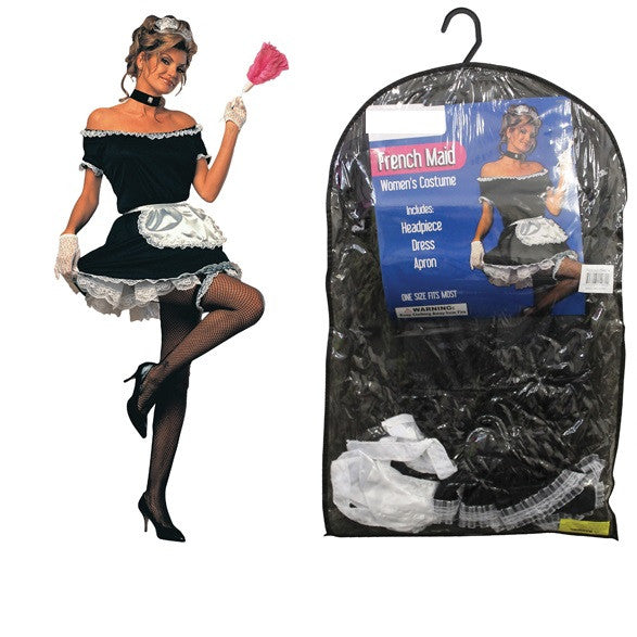 Sexy Ladies French Maid Halloween Costume