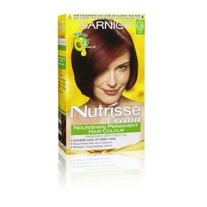 Garnier Nutrisse Nourishing Permanent Hair Colour Cream