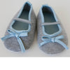 Teeny Toes Baby Infant Grey Ballet Flats 0-6 Months or 6-12 Months