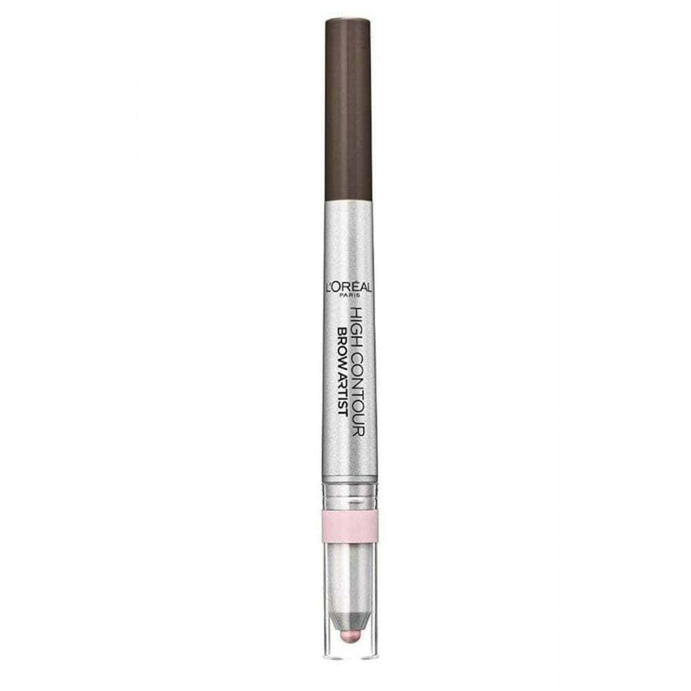 L'Oreal High Contour Brow Artist Double Ended Pencil 107 Cool Brunette
