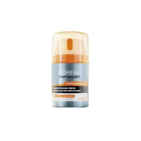 L'Oreal Paris Men Expert Hydra Energetic Anti-Fatigue Daily Moisturising Lotion 50mL