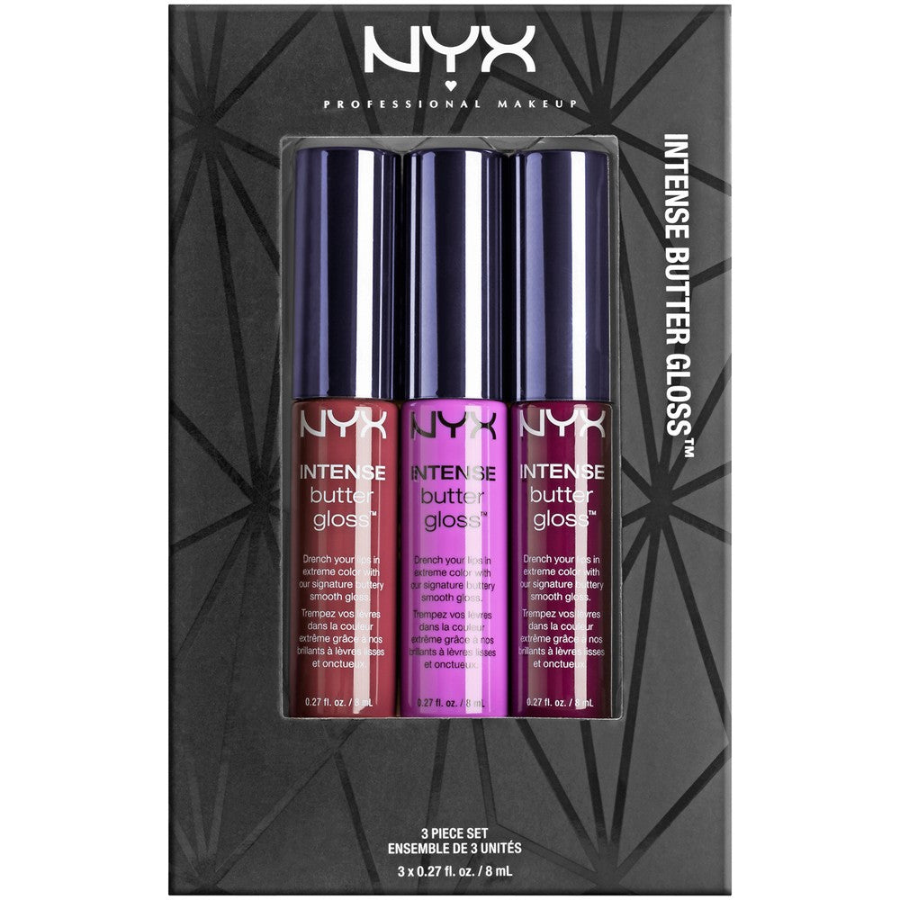 NYX Intense Butter Gloss Set 04