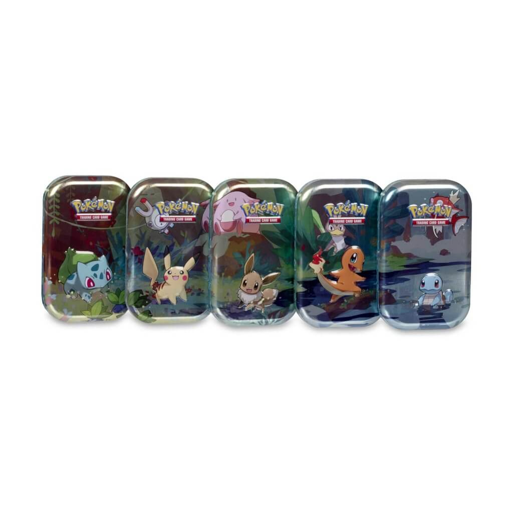 Pokemon TCG Kanto Friends Mini Tin - All Kanto Starters Available