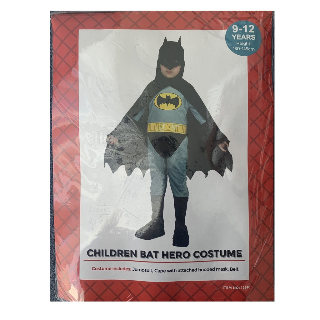Kids Batman Costume | 9-12YO | Height 130-145cm